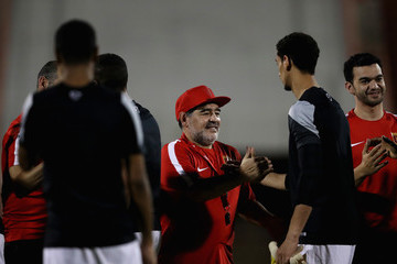Diego Maradona Diego Maradona Unveiled as New Manager of Al-Fujairah SC