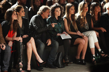 Renzo Rosso Amber Le Bon Diesel Black Gold - Front Row - Fall 2012 Mercedes-Benz Fashion Week