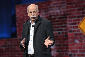 Dieter Zetsche New Models Debut at North American International Auto Show