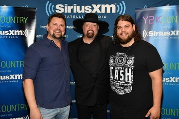 Dillon Carmichael Montgomery Gentry Perform Live On SiriusXM's Y2Kountry Channel At SiriusXM's Music City Theatre In Nashville