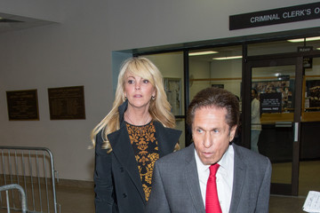 Dina Lohan Dina Lohan Spotted at Court