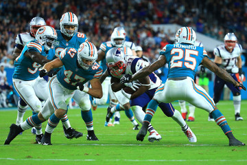 Dion Lewis New England Patriots vMiami Dolphins