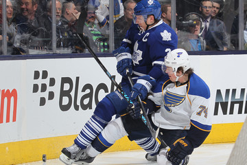 Dion Phaneuf St Louis Blues v Toronto Maple Leafs
