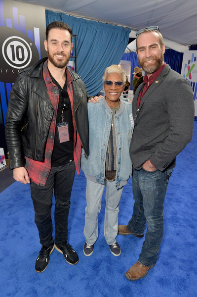 61st Annual GRAMMY Awards - GRAMMY Gift Lounge - Day 2 [event,jacket,leather,premiere,textile,jeans,outerwear,flooring,carpet,facial hair,grammy gift lounge,david meadows,dionne warwick,ryan curtis,grammy,gift lounge,california,los angeles,staples center,annual grammy awards]