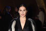 Amira Casar attends the Dior Haute Couture Spring/Summer 2020 show as part of Paris Fashion Week on January 20, 2020 in Paris, France.