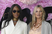 (L-R) Naomi Campbell and Kate Moss attend the Dior Homme Menswear Spring/Summer 2019 show as part of Paris Fashion Week on June 23, 2018 in Paris, France.
