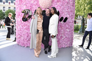Kate Moss, Kim Jones and Naomi Campbell attend the Dior Homme Menswear Spring/Summer 2019 show as part of Paris Fashion Week on June 23, 2018 in Paris, France.