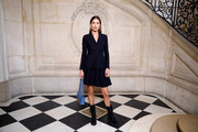 Doutzen Kroes attends the Dior Haute Couture Spring/Summer 2020 show as part of Paris Fashion Week on January 20, 2020 in Paris, France.