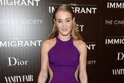 Elizabeth Gilpin attends the Dior & Vanity Fair with The Cinema Society premiere of The Weinstein Company's 'The Immigrant' at The Paley Center for Media on May 6, 2014 in New York City.