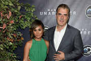 """Tara Wilson and Chris Noth attend the Discovery's """"Manhunt: Unabomber"""" World Premiere at the Appel Room at Jazz at Lincoln Center Frederick P. Rose Hall on July 19, 2017 in New York Cit"""