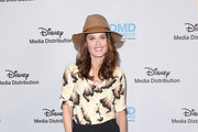 Actress Robin Tunney attends the Disney/ABC International Upfronts at the Walt Disney Studio Lot on May 20, 2018 in Burbank, California.