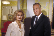 """20/20 - 5/5/80 .Barbara Walters interviewed former Vice President Spiro T. Agnew on ABC News' """"20/20"""" airing on the ABC Television Network. .(Photo by ABC Photo Archives via Getty Images).BARBARA WALTERS, SPIRO T. AGNEW"""