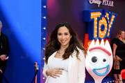 """Myleene Klass attends the European premiere of Disney and Pixar's """"Toy Story 4"""" at the Odeon Luxe Leicester Square on June 16, 2019 in London, England."""