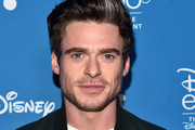 Richard Madden of 'The Eternals' took part today in the Walt Disney Studios presentation at Disney's D23 EXPO 2019 in Anaheim, Calif.  'The Eternals' will be released in U.S. theaters on November 6, 2020.