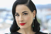 Dita Von Teese Visits The Avakian Suite