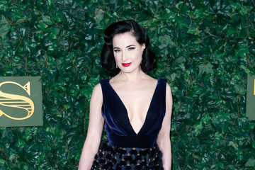Dita Von Teese The London Evening Standard Theatre Awards - Red Carpet Arrivals