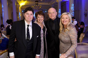 (L-R) DIVA Magazine Publisher Linda Riley, Getty Images CEO Dawn Airey, Ross Kemp and Jacquie Lawrence attend the 2018 Diva Awards at The Waldorf Hilton Hotel on June 8, 2018 in London, England.