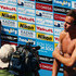 Tom Daley Photos - Tom Daley of Great Britain is interviewd by the media during the Men's 10m Platform Diving Semifinal round on day eight of the 15th FINA World Championships at Piscina Municipal de Montjuic on July 27, 2013 in Barcelona, Spain. - Diving - 15th FINA World Championships: Day Eight