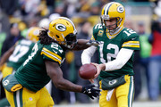 Aaron Rodgers and Eddie Lacy Photos Photo