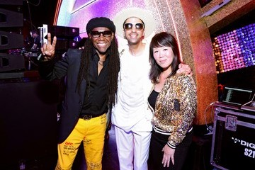 Dj Cassidy The DiscOasis at the South Coast Botanic Garden with Groovemaster Nile Rodgers