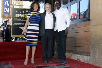 Djimon Hounsou Ridley Scott Is Honored with a Star on the Hollywood Walk of Fame