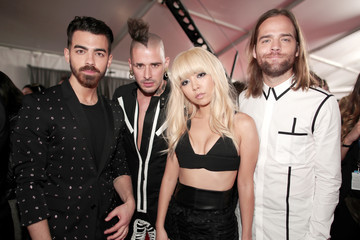 Dnce The 59th GRAMMY Awards -  Red Carpet