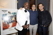 Tyrese Gibson, David O. Russell and Édgar Ramírez attend the 'Dolemite Is My Name' John Davis Hosted Tastemaker at a Private Residence on November 19, 2019 in Beverly Hills, California.