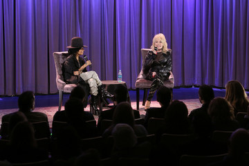 Dolly Parton Linda Perry GRAMMY Museum Town Hall Program With Dolly Parton Moderated By Linda Perry