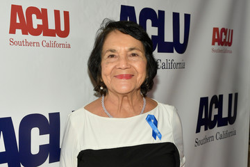 Dolores Huerta ACLU SoCal Hosts Annual Bill of Rights Dinner - Red Carpet
