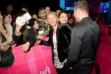Dominic Howard MTV EMAs 2018 - VIP Arrivals