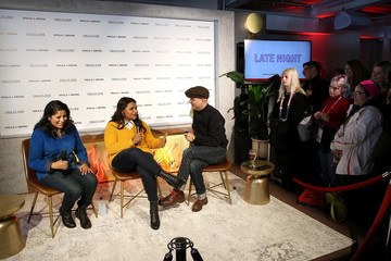 Dominic Patten Stella Artois & Deadline Sundance Series At Stella's Film Lounge: A Live Q&A With The Filmmakers Of 'Late Night'