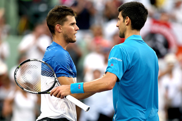 Novak Djokovic Praises Dominic Thiem Following Lackluster Performance