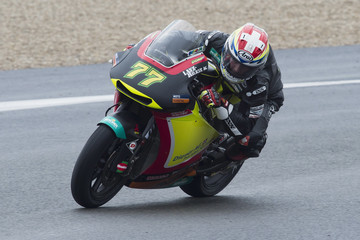 Dominique Aegerter Moto2 & Moto3 Tests In Jerez