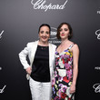 Dominique Blanc Official Trophee Chopard Dinner - Photocall - The 72nd Cannes International Film Festival