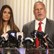 Dominique Huett Actress Dominique Huett and Her attorney Jeff Herman Hold Press Conference To Discuss Her Lawsuit Against the Weinstein Company