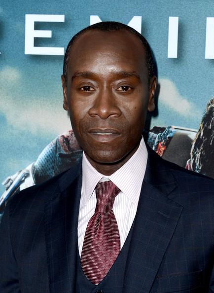the iron man 3 premiere 5 in this photo don cheadle actor don cheadle    Don Cheadle Iron Man 3