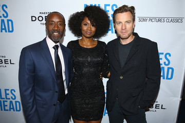 Don Cheadle Ewan McGregor Premiere of Sony Pictures Classics' 'Miles Ahead' - Red Carpet