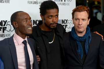 Don Cheadle Keith Stanfield 53rd New York Film Festival - Closing Night Gala Screening of 'Miles Ahead' - Arrivals