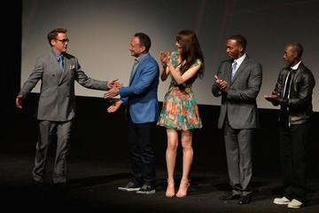 Don Cheadle Robert Downey Jr. World Premiere of Marvel's 'Avengers: Age Of Ultron' - Red Carpet