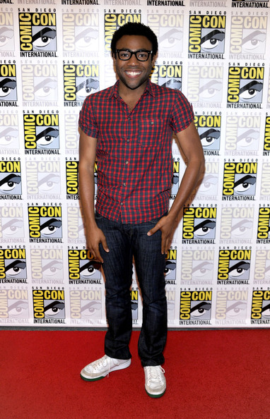 Donald Glover Girlfriend Donald glover actor attend the