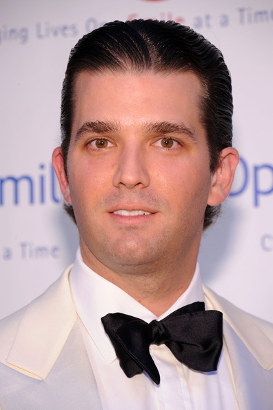 donald trump jr hair. donald trump jr and vanessa