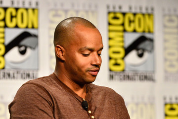 Donald Faison Legends of TV Land Panel at Comic-Con