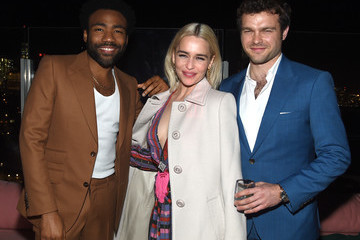 Donald Glover Emilia Clarke 'Solo: A Star Wars Story' New York Premiere - After Party