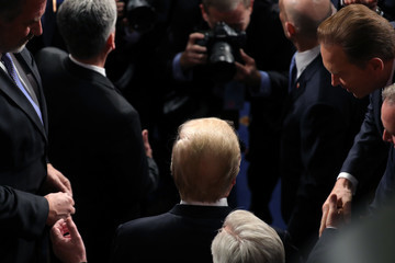Donald J. Trump Trump Addresses the Nation in His First State of the Union Address to Joint Session of Congress