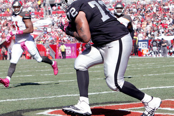 Donald Penn Oakland Raiders v Tampa Bay Buccaneers