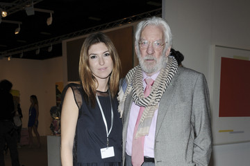 Donald Sutherland Around Art Basel Miami Beach: Day 2