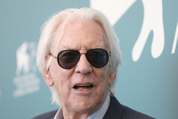 Donald Sutherland 'The Burnt Orange Heresy' Photocall - 76th Venice Film Festival - The 76th Venice Film Festival
