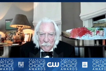 Donald Sutherland 26th Annual Critics Choice Awards - Press Room