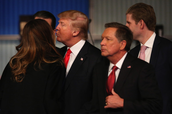 Donald Trump And Melania PhotosPhotostream Pictures GOP Presidential Candidates Debate In Milwaukee