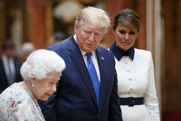 Donald Trump - US President US President Trump's State Visit To UK - Day One